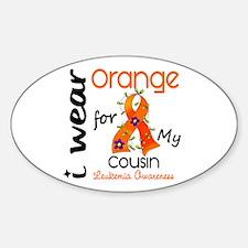 I Wear Orange 43 Leukemia Decal