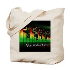Funny Electronic Tote Bag