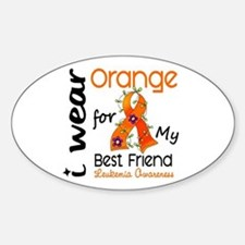I Wear Orange 43 Leukemia Decal