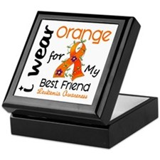 I Wear Orange 43 Leukemia Keepsake Box
