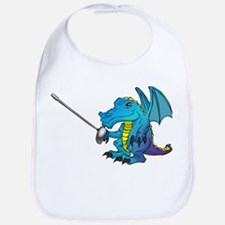 Fencing Dragon Bib