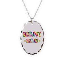 Biology Rules Necklace
