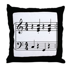 OOM-PAH or UMPAPA Music Throw Pillow