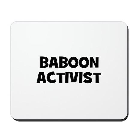 Baboon Activist Mousepad