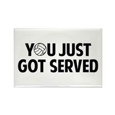 Got served - Volleyball Rectangle Magnet (10 pack)