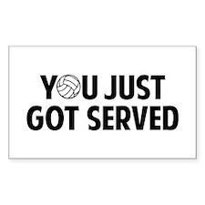 Got served - Volleyball Decal