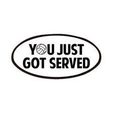Got served - Volleyball Patches
