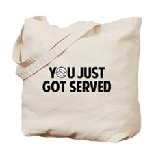Got served - Volleyball Tote Bag