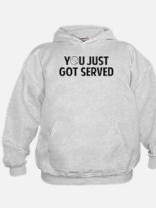 Got served - Volleyball Hoodie