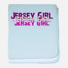 Jersy Girl baby blanket