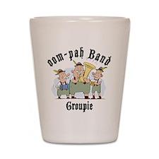 Oktoberfest oom-pah Band Groupie Shot Glass