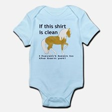 If This Shirt is CLEAN Infant Bodysuit