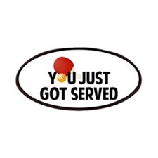 Got served - Table Tennis Patches