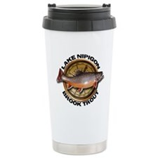 Stainless Steel Brook Trout Travel Mug
