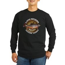Long Sleeve Dark Brook Trout T-Shirt