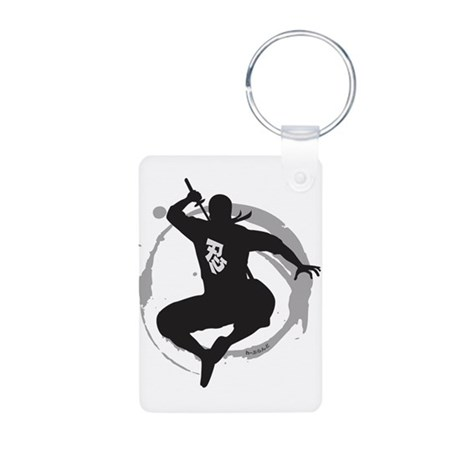 ninja Aluminum Photo Keychain