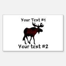 customize Moose Decal