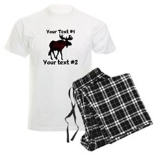 customize Moose Pajamas