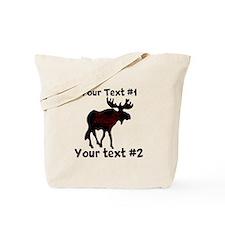 customize Moose Tote Bag