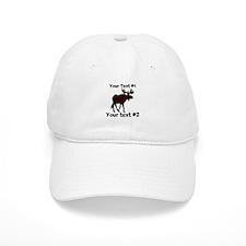 customize Moose Baseball Cap
