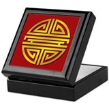Chinese longevity symbol Keepsake Boxes