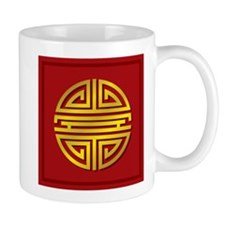 Chinese Longevity Sign Small Mug