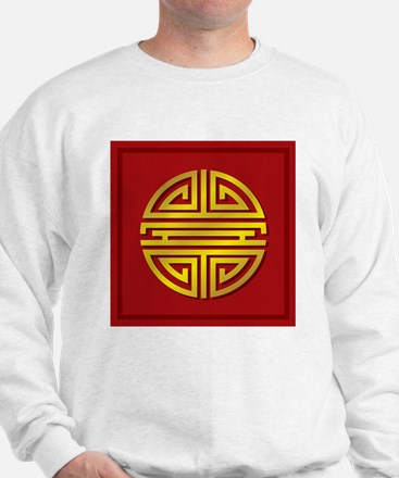 Chinese Longevity Sign Sweatshirt