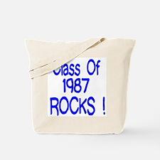 1987 Blue Tote Bag