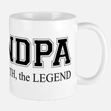 Grandpa The Man Myth Legend Mug Mugs