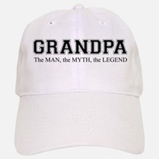 Grandpa The Man Myth Legend Cap