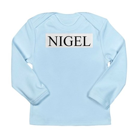 Nigel Long Sleeve Infant T-Shirt