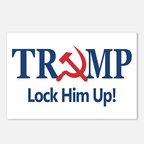 Lock Him Up Postcards (Package of 8)