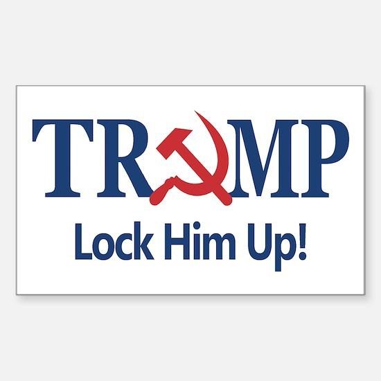Lock Him Up Decal