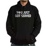 Got served - Baseball Hoodie (dark)