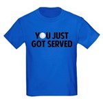 Got served - Baseball Kids Dark T-Shirt