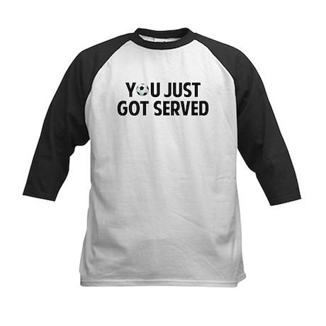 Got served - Soccer Kids Baseball Jersey