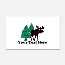 Personalized Moose Car Magnet 20 x 12