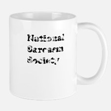 Vintage National Sarcasm Soci Mug