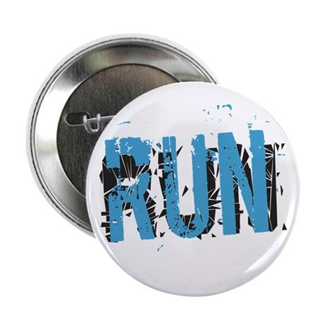 "Grunge RUN 2.25"" Button"