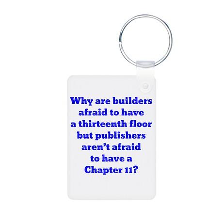 Chapter 11 Aluminum Photo Keychain