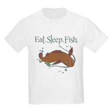 Eat.Sleep.Fish. T-Shirt