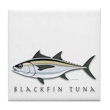 Blackfin Tuna Tile Coaster