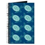Sea Turtles Fabric Journal