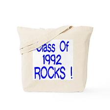 1992 Blue Tote Bag