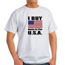 I Buy Made in the U.S.A. - T-shirt