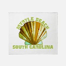 Myrtle Beach South Carolina Throw Blanket