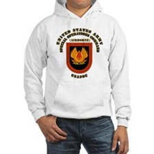SOF - USASOC Flash with Text Hoodie