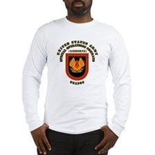 SOF - USASOC Flash with Text Long Sleeve T-Shirt