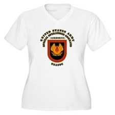 SOF - USASOC Flash with Text T-Shirt
