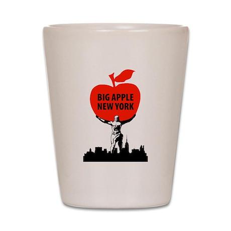 Big Apple, New York Shot Glass